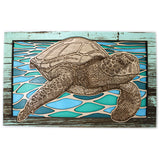 Wall Art - Sea Turtle Flow
