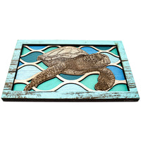 Wall Art - Sea Turtle Ripples