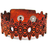 Women's Leather Bracelet - Sunshine Cut