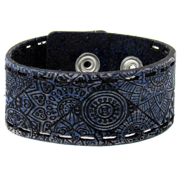 Women's Leather Bracelet - Spring Love Cut