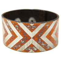 Women's Leather Bracelet - Reflections