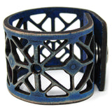 Women's Leather Cuff - Kaliedoscope