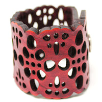 Women's Leather Cuff - Bold Boho Cuff