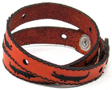 Women's Leather Wrap - Alligators Wrap