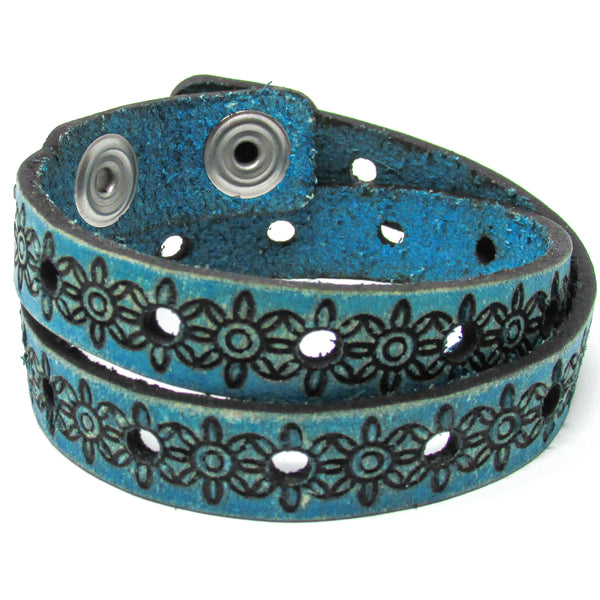 Women's Leather Wrap - Sunshine Wrap