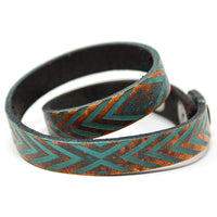 Women's Leather Wrap - Reflective Wrap