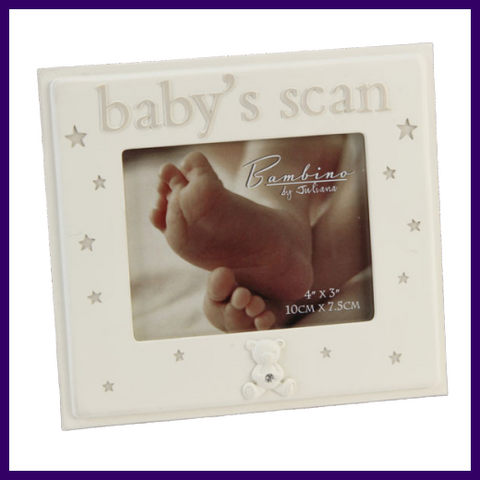 Bambino Baby Scan 4 x 3 inch Resin Photo Frame