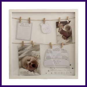 Bambino Welcome to the World Keepsake Photo Frame