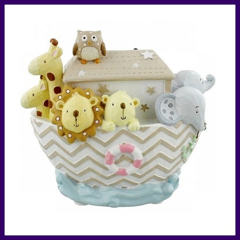 Celebrations Noah's Ark Animal Money Box