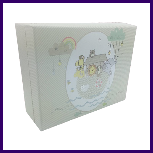 Celebrations Noah's Ark Compartment Keepsake Box