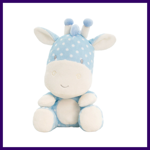 Keel Toys Baby Spotty Wild Blue Giraffe Soft Toy