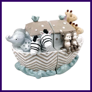 Celebrations Noah's Ark Animal Bookends