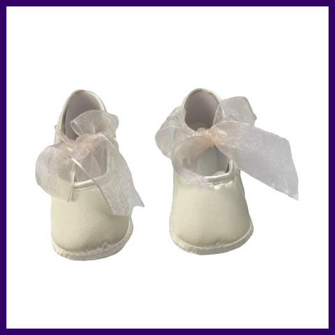 Baby Christening Shoes Plain Design