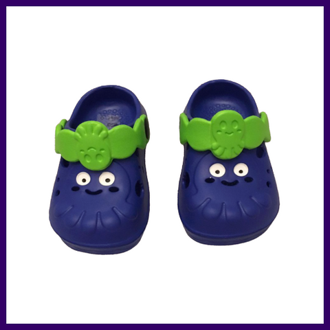 Soft Touch Blue Octopus EVA Clogs