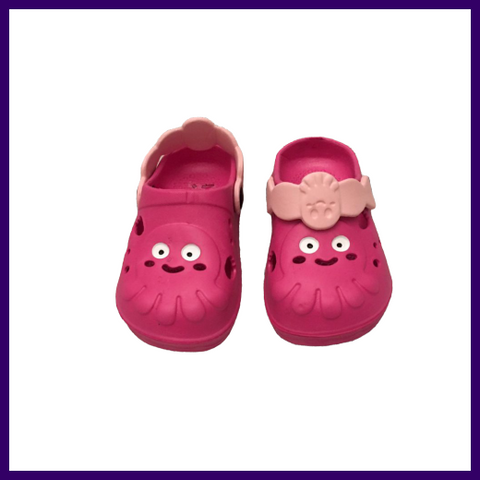 Soft Touch Fuchsia Octopus EVA Clogs