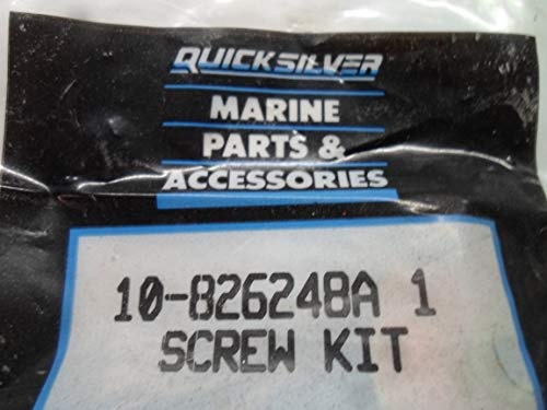 Outboard Mercury Quicksilver Stern Screw Kit 10-826248A (1 Kit)