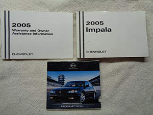 2005 Impala OEM Vehicle Owner's Manual