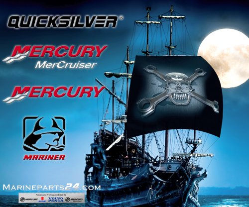 New Mercury Mercruiser Quicksilver Oem Part # 12-F1866 Washer