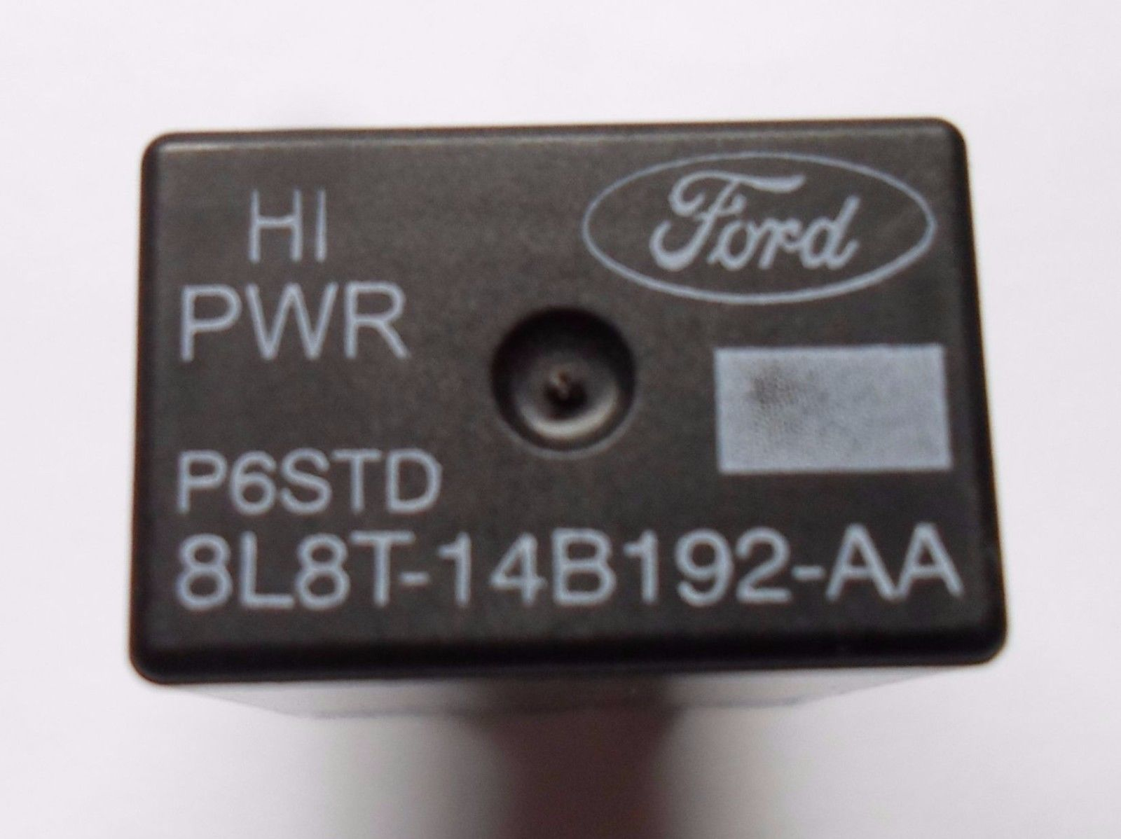 FORD  RELAY 8L8T-14B192-AA HIPWR  P6STD TESTED OEM FREE SHIP 60 DAY WARRANTY  F2