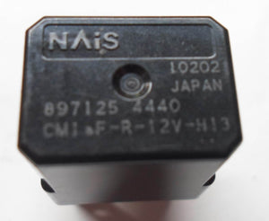 ISUZU OEM NAIS RELAY 897125 4440  TESTED 6 MONTH WARRANTY  FREE SHIPPING! ZU1
