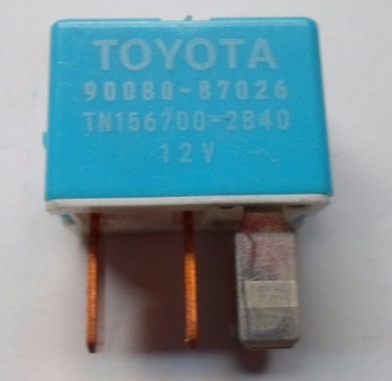 TOYOTA  RELAY 90080-87026 DENSO  TESTED 6 MONTH WARRANTY  FREE SHIPPING! T2