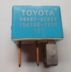 TOYOTA  RELAY 90987-02027 DENSO  TESTED 6 MONTH WARRANTY  FREE SHIPPING! T2