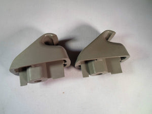 1997 - 2003 PONTIAC GRAND PRIX GREY SUN VISOR CLIP SET OEM!  FREE SHIPPING GC1