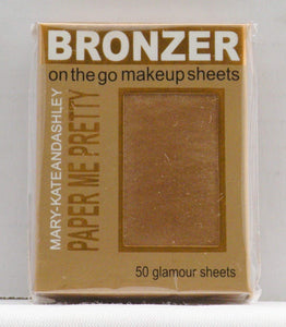 Mary-Kate & Ashley Paper Me Pretty Bronzer Makeup Sheets - Sunkissed #814