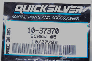 Mercury 10-37370 Screw QTY 6