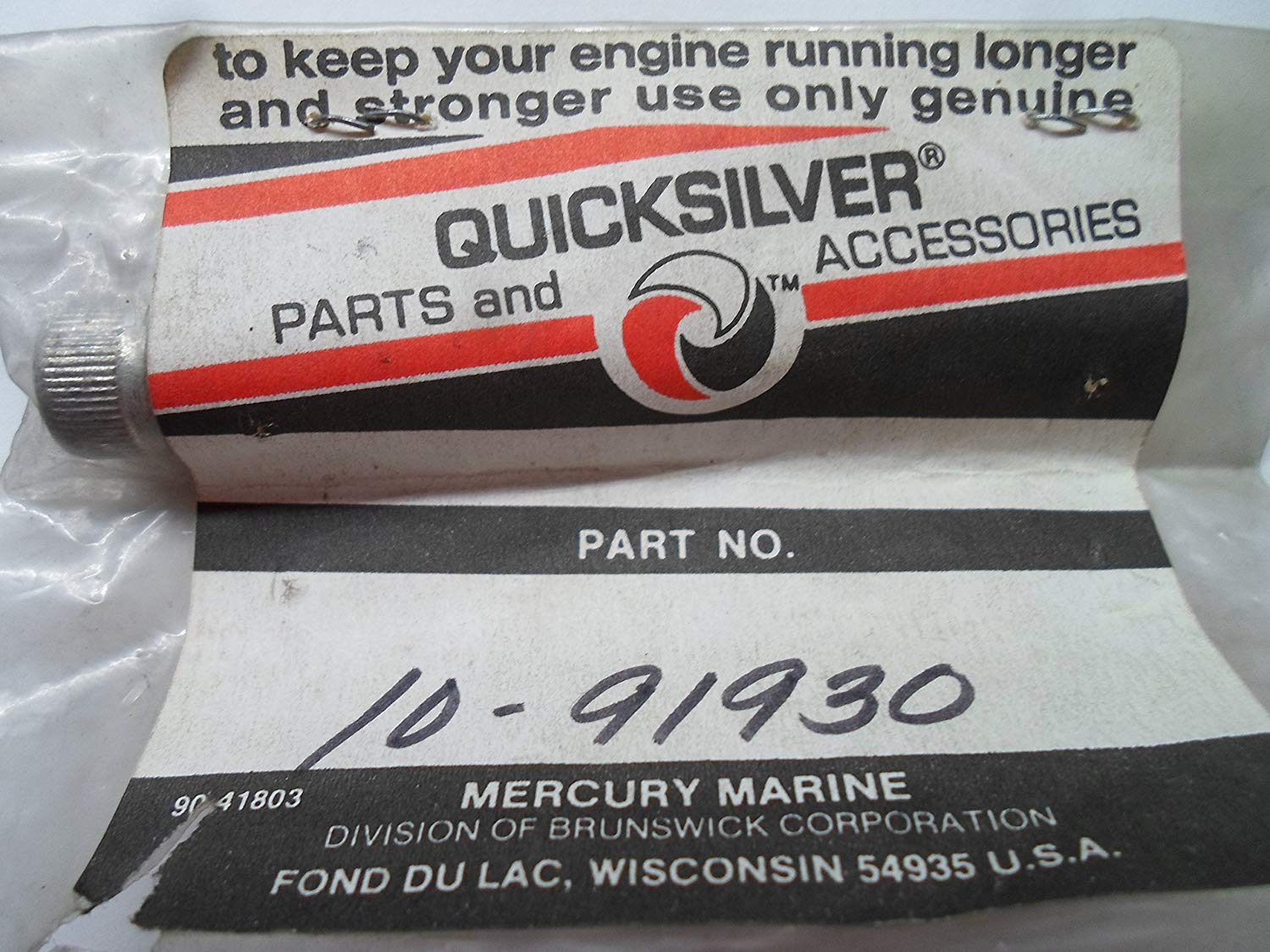 Quicksilver / Mercury 10-91930