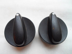 2000 - 2002 SATURN  S  SERIES CLIMATE CONTROL KNOB SET OF 2  OEM FREE SHIPPING!