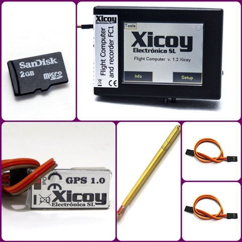 Flight Computer Full kit-Xicoy