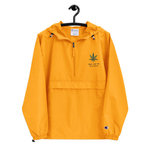 """ Smoke Weed And Masturbate "" Embroidered Champion Packable Jacket"