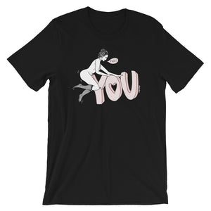 """ Fuck You "" Short-Sleeve Unisex T-Shirt"