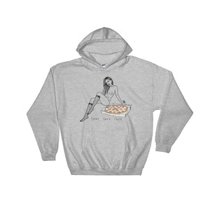""" Sexy Sexy Sexy Pizza "" Hooded Sweatshirt"