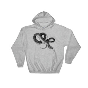 """ Inverted Medusa "" Hooded Sweatshirt"