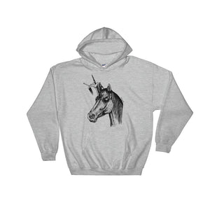 """ La Licorne "" Hooded Sweatshirt"