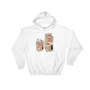 """ Pussy Juice "" Hooded Sweatshirt"