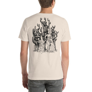 """ Best Of Both World X All Shapes And Forms ""Front and Back Print Short-Sleeve Unisex T-Shirt"