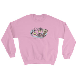 """ Egg, Bacon et Potat-Hoes "" Sweatshirt"
