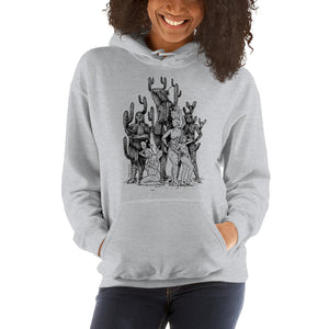 """ All Shapes And Forms ""  Unisex Hooded Sweatshirt"