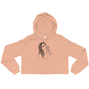 """ Embrace Your Sexuality ""  Crop Hoodie"