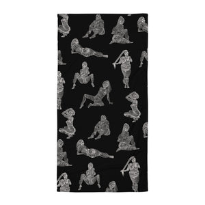 """ 7 Deadly sins "" Soft Beach Towel"