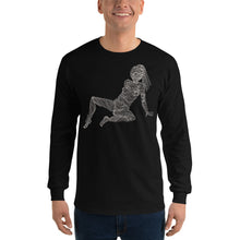 """ 6/7 Deadly sins "" Front and back Print Dark  Men's Long Sleeve Shirt"