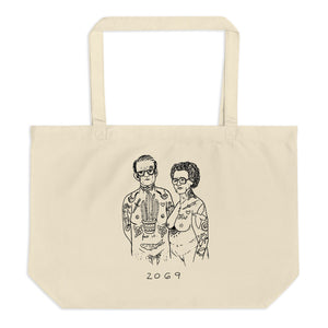""" Us "" 2069 Large organic tote bag"