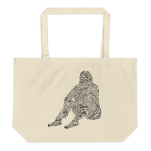 """ 5/7 Deadly sins "" Front and back Print Large organic tote bag"
