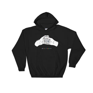 """ Adulthood "" Hooded Sweatshirt"