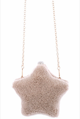 Fuzzy Star Clutch
