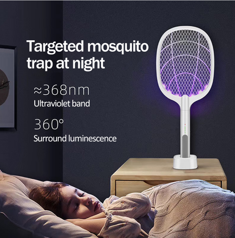 Person - Mosquito Killer Racket