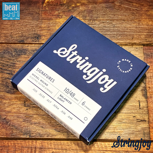 Stringjoy - 6 String Electric Guitar Strings Light (10-48)